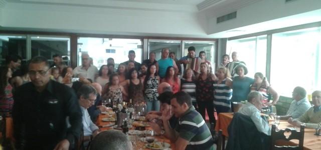 Almoço de confraternização a convite dos Clubes Casa das Beiras e Arouca Barra Clube