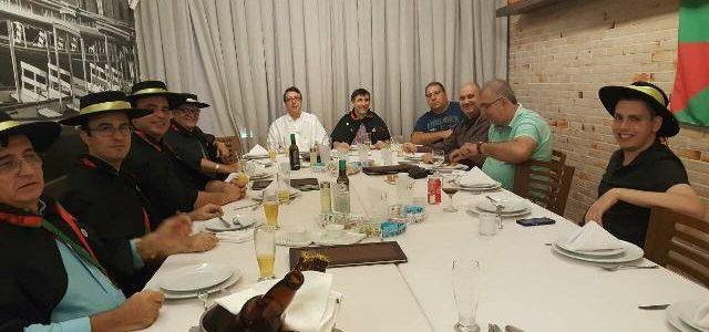 Jantar de Natal da Confraria Luso Amazónica, em Manaus