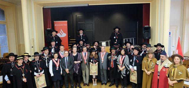 I Entronização da Confraria de Saberes e Sabores de Portugal na Suíça Francófona, no dia 27/01 na cidade de Montreux