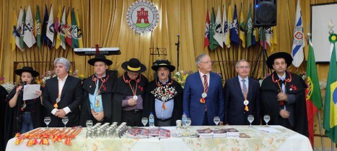 """Casa de Viseu recebe """"desfile de autoridades"""" durante sessão solene no Rio de Janeiro"""