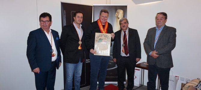 Confraria Saberes e Sabores da Beira 'Grão Vasco' homenageou Chef Alysson Mulller