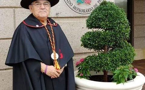 Manuel Viegas conselheiro das Comunidades da FLORIDA e Confrade da Confraria Saberes e sabores da Beira Grão Vasco