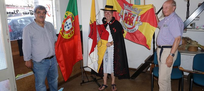 Presidente da Associação Les Amis do Jumelage de Marly le Roi visitou Viseu