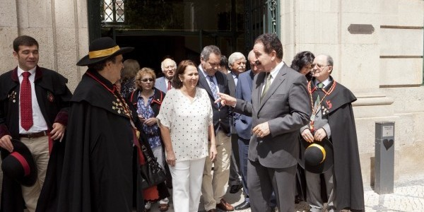Cerimónia da Assinatura do Acordo de Cidades Irmãs Rio de JaneiroViseu e Visitas pelo Distrito de Viseu