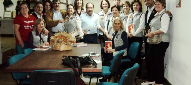 Confraria de Farroupilha – Brasil visita a nossa sede