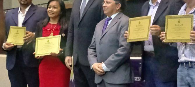 Eliete Farias homenageada pela Assembleia Legislativa do Estado do Amazonas