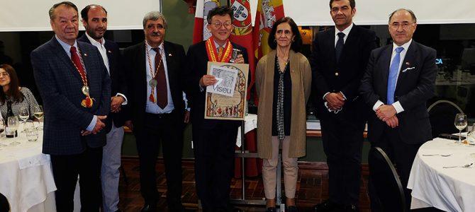 Confraria Grão Vasco juntou embaixador da República da Coreia e produtores de vinho do Dão
